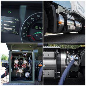 грузовики Volvo серий FH LNG и FM LNG
