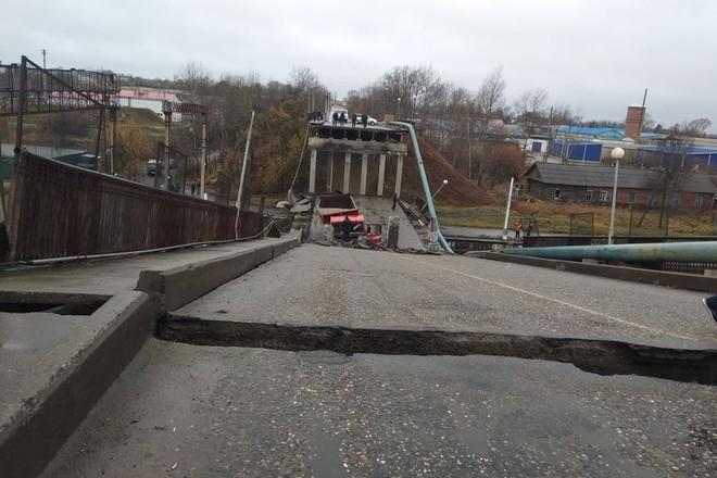 Обрушение моста в г. Свободный - 1