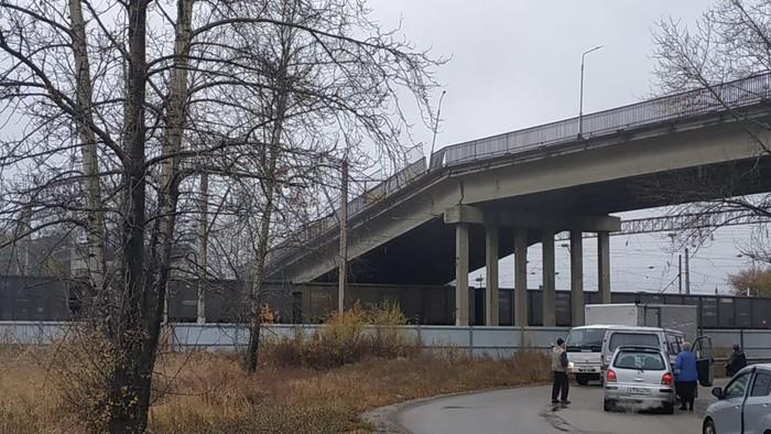 Обрушение моста в г. Свободный - 2