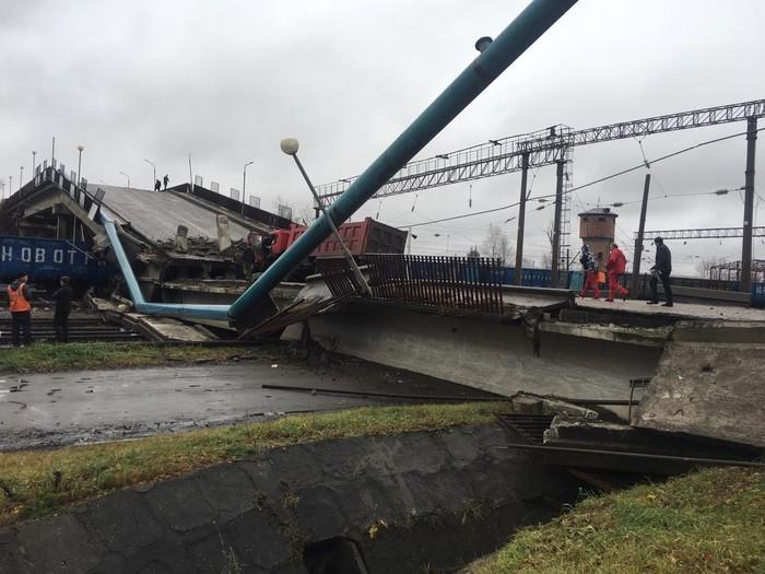 Обрушение моста в г. Свободный - 3