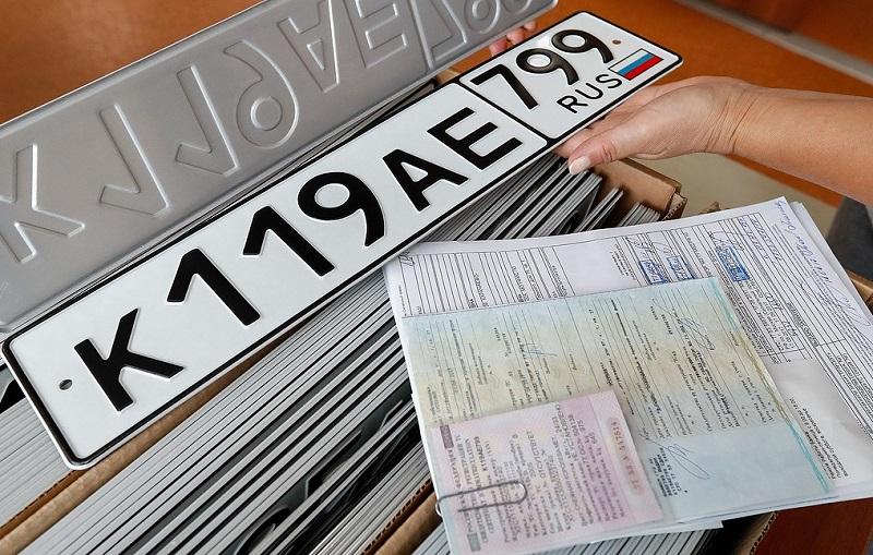 Введение новых автомобильных номеров будет перенесено