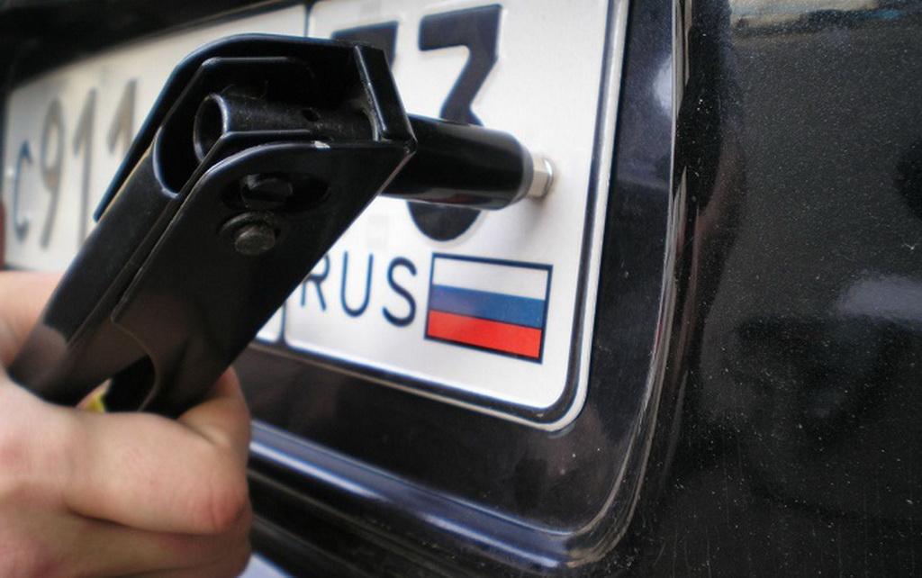 Новые автомобильные номера с чипами появятся в России