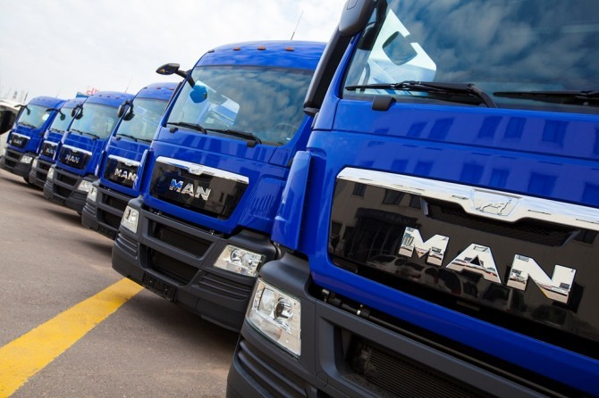 Рынок новых грузовых автомобилей в марте вырос в 1,5 раза