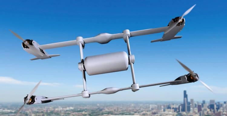 Гибрид грузовика и вертолета – новая транспортная техника будущего