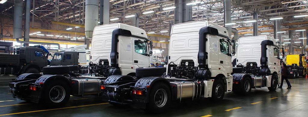Рынок грузовиков в России продолжает расти