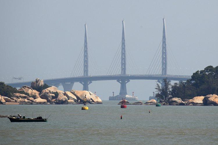 В Китае открыли самый большой в мире автомобильный мост