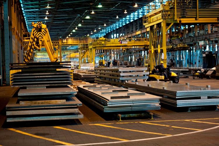Экспорт российского металла выше, чем продовольствия