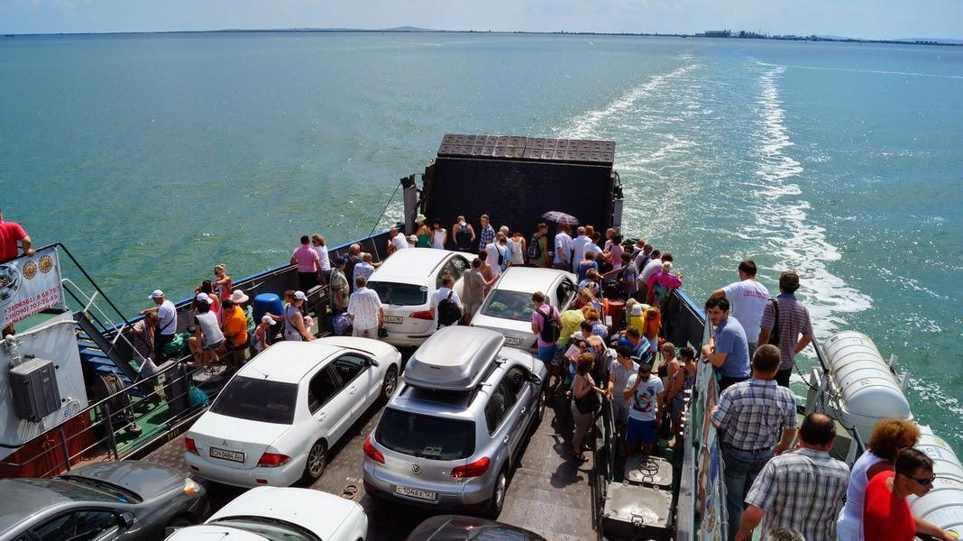Керченская переправа упрощает порядок перевозки грузового транспорта