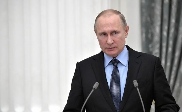 Всероссийский съезд транспортников, с участием Президента РФ Путина В.В.