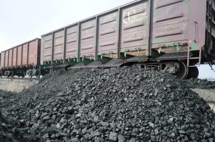 Почти 50% экспорта через РЖД занимает уголь