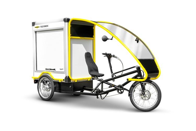 Скоро на рынок выйдет новый вид транспорта – грузовой велосипед