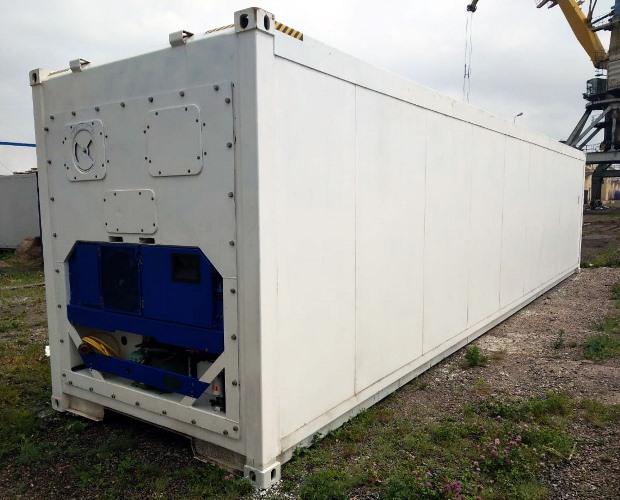 Первый российский рефрижераторный контейнер прошел сертификацию