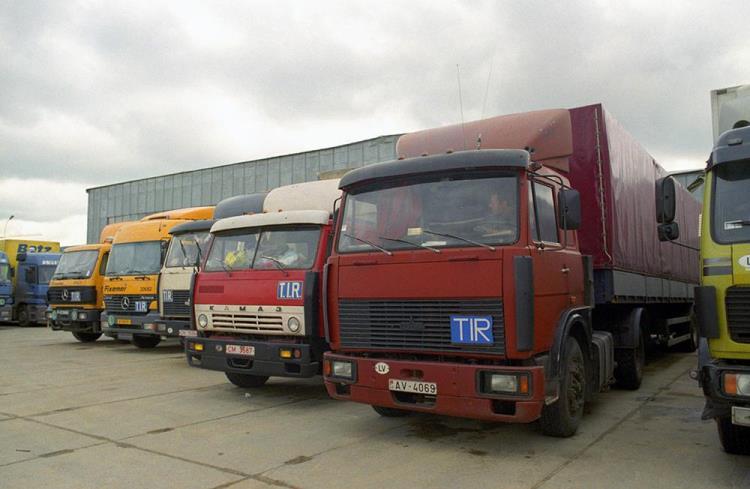 30% грузового транспорта выпущено еще в советское время