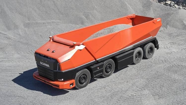 Scania создала автомобиль, который может ездить под землей