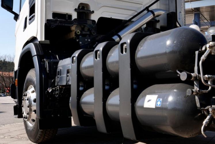 Тягачи на газовом топливе хотят освободить уплаты «Платона»