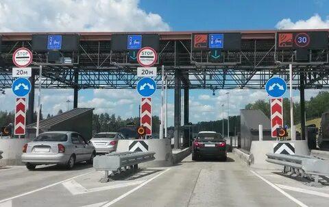 Пункт оплаты проезда на трассе М-11